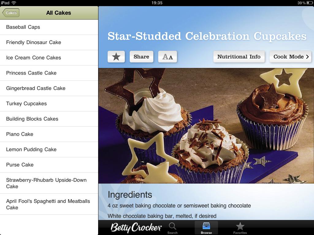 Lag mat med iPad – Tre gode Apps