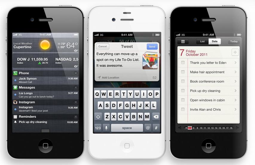 Ny iPhone 4S lansert + nye iPods